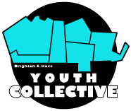 Logo for the Brighton & Hove youth collective